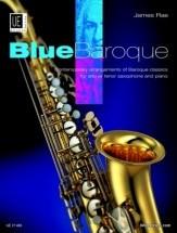 Rae J. - Blue Baroque Saxophone