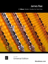 Rae J. - 42 More Modern Studies For Solo Flute