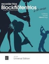Recorder Trios - La Paloma, Carmela, Albeniz Tango - 3 Flutes A Bec Sab