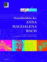 Diverse - Notebook From Anna Magdalena Bach - Flute And Piano