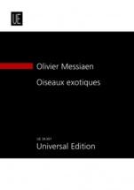 Messiaen Olivier - Oiseaux Exotiques - Conducteur