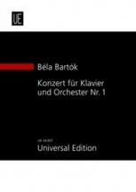 Bartok Bela - Piano Concerto N°1 - Study Score