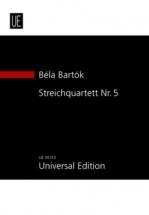 Bartok Bela - String Quartet N°5 - Study Score