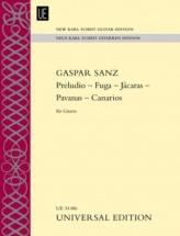 Sanz Gaspar - Preludio - Fuga - Jacaras - Pavanas - Canarios Für Gitarre