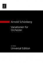 Schönberg A. - Variationen Für Orchester Op.31 - Conducteur