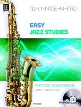 Dehnhard T. - Easy Jazz Studies + Cd - Saxophone Alto
