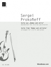 Prokofiev S. - Suite From Romeo And Juliet  - Violon Et Piano