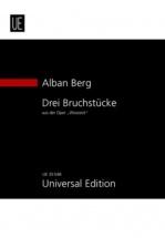 Berg A. - Drei Bruchstücke Aus Der Oper Wozzeck Op.7 - Conducteur