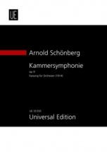 Schönberg A. - Kammersymphonie N°1 Für Orchester E-dur Op.9 - Conducteur