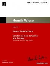 Bach J.s. - Sonaten Fur Viola Da Gamba Und Cembalo - Flute and Piano