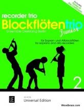 Rosin S.c. - Recorder Trio Junior - 3 Flb (ssa-saa)