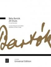 Bartok Bela - 20 Duos - 2 Clarinettes