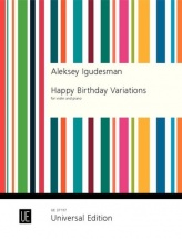 Igudesman Aleksey - Happy Birthday Variations - Violon and Piano