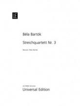 Bartok Bela - String Quartet N°3 - Parties