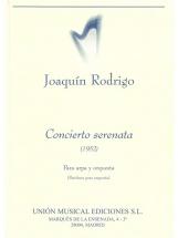 Rodrigo Concierto Serenata Para Arpa Y Orquesta - Harp