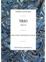 Granados Enrique - Trio Op.50 (piano Trio)
