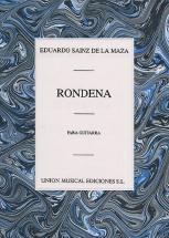 Eduardo Sainz De La Maza Rondena For Guitar - Guitar