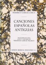 Garcia Lorca  -  Conciones Espanolas Antiguas  -  Chant  Et Guitare