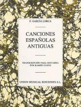 Federico Garcia Lorca - Canciones Espanolas Antiguas - Guitar