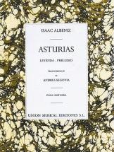 Albeniz Asturias Preludio Guitar - Guitar