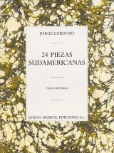 Jorge Cardoso 24 Piezas Sudamericanas - Guitar