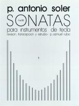Antonio Soler Sonatas Volume One - Piano Solo
