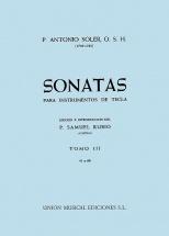 Antonio Soler - Sonata Volume Three - 3 - Harpsichord