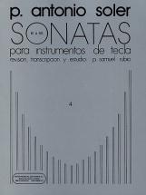 Antonio Soler -sonatas Volume Four - Piano Solo