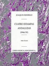 Joaquin Rodrigo Cuatro Estampas Andaluzas Para - Piano Solo
