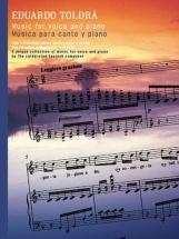 Toldra Eduardo Music For Voice And Piano