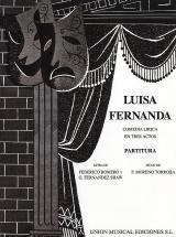 Federico Moreno Torroba - Luisa Fernanda - Vocal Score