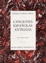 Federico Garcia Lorca - Canciones Espanolas Antiguas - Voice
