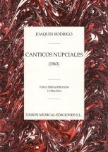 Joaquin Rodrigo - Canticos Nupciales Para Tres Sopranos Y Organo Chor - Choral