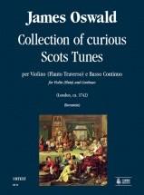 Oswald J. - Collection Of Curious Scots Tunes - Violon Et Bc