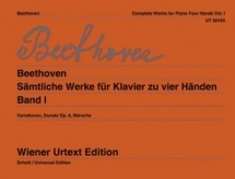 Beethoven - Complete Works For Piano Four Hands Vol.1