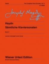 Haydn J. - Sämtliche Klaviersonaten Vol. 3