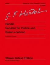 Handel G.f. - Sonates Pour Violon Et Basse Continue