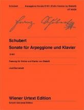 Schubert Franz - Sonata For Arpeggione and Piano D 821 - Violon and Piano