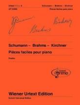 Urtext Primo Vol.4 - Schumann, Brahms, Kirchner - Pieces Faciles - Piano