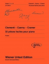 Clementi - Czerny - Cramer - 32 Pieces Faciles Pour Piano (urterxt Primo 6)