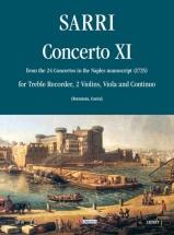 Sarri Domenico - Concerto Xi - Score and Parts