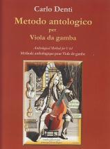 Denti C. - Anthological Method For Viol