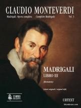 Monteverdi C. - Madrigali Libro Iii (clefs Originales)