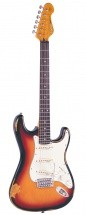 Vintage Icon V6 Distressed Sunburst