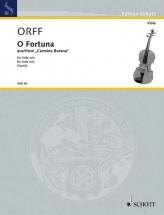 Orff C. - O Fortuna - Alto