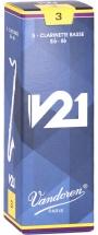 Vandoren Boite De 5 Anches - Clarinette Basse - Cr823 - V21 3