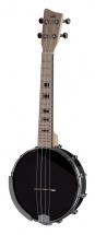 Vgs Banjo Ukulele Manoa B-co-a Abs Black
