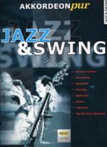 Jazz & Swing Akkordeon Pur Vol.1 - Accordéon