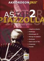 Piazzolla Astor Akkordeon Pur Vol.2 - Accordéon