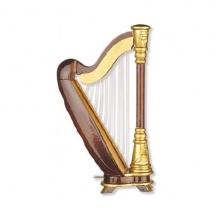 Vienna World Magnet Harpe - 11,43 Cm